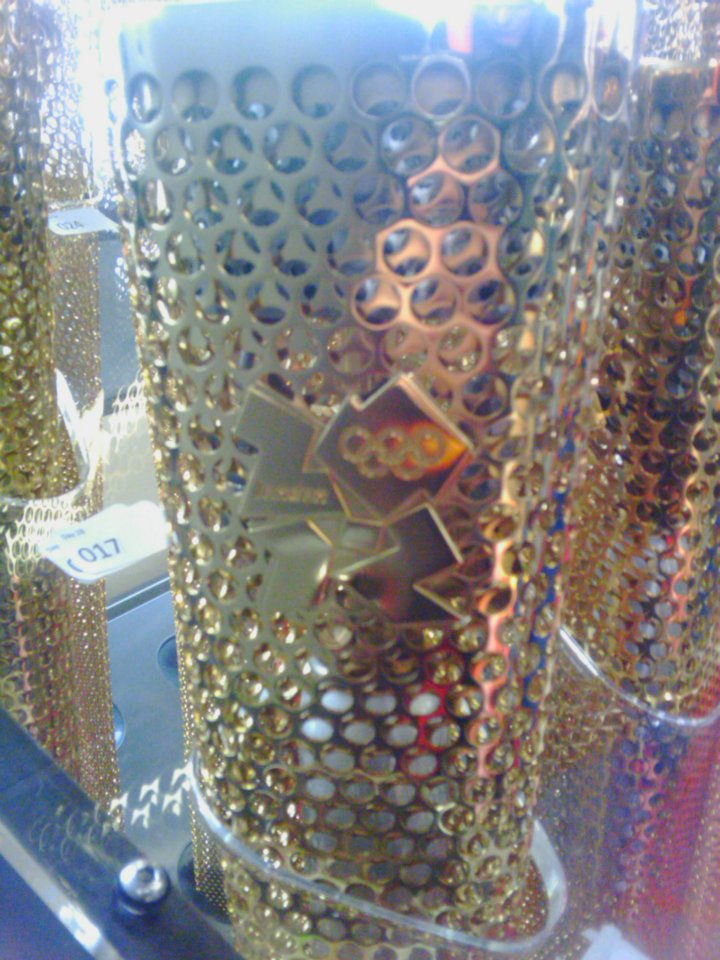 Olympic Torch Logo Closeup - London 2012